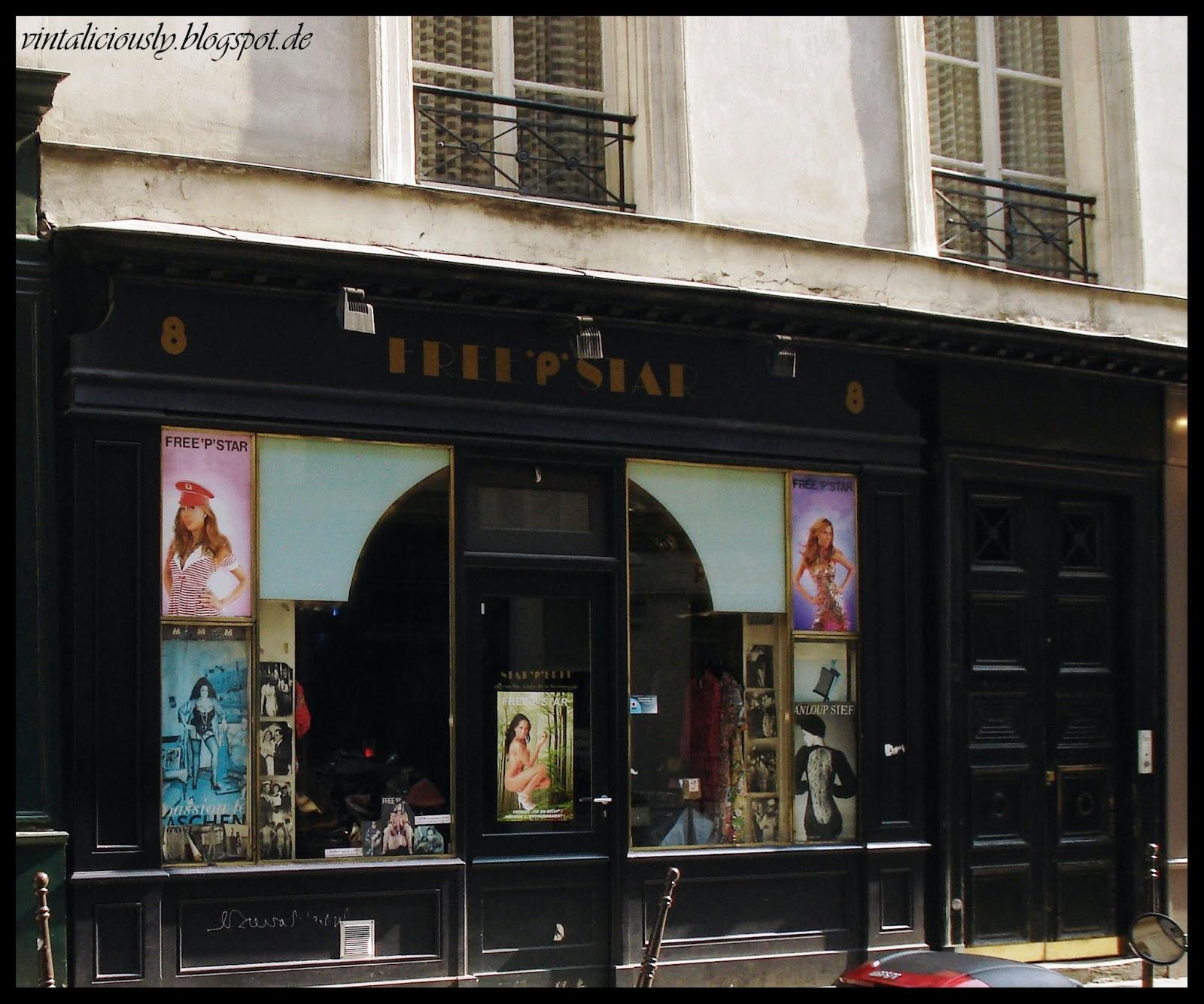 Paris freepstar vintaliciously vintage blog for Retro shop paris