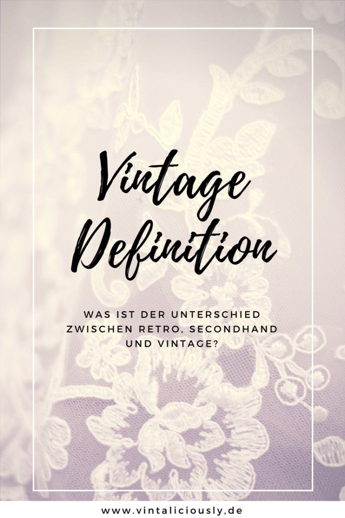 Definition Vintage