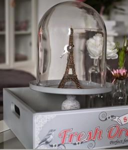 Eiffelturm-Deko