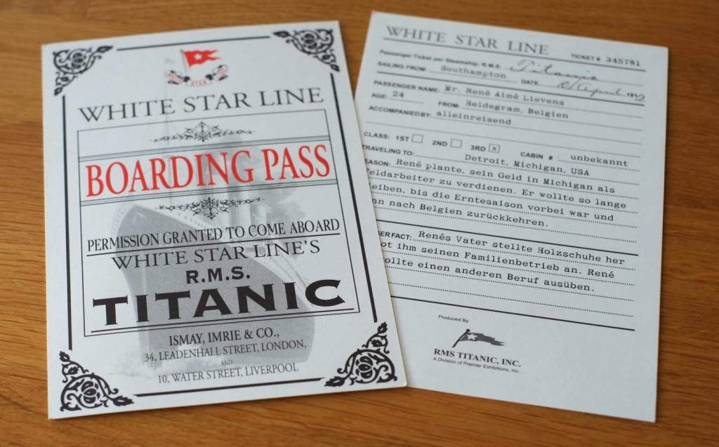 Titanic-Boarding-Pass-Ausstellung