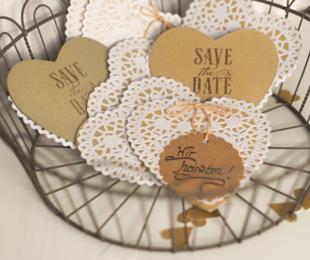save the date diy vintaliciously vintage blog. Black Bedroom Furniture Sets. Home Design Ideas