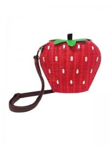 Korbtasche Erdbeere