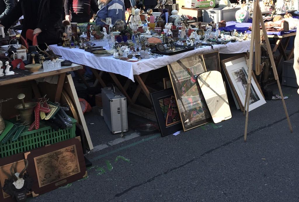 Naschmarkt Flohmarkt Wien