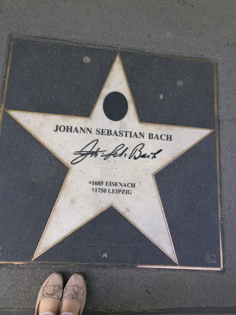 Walk of Fame Wien Bach