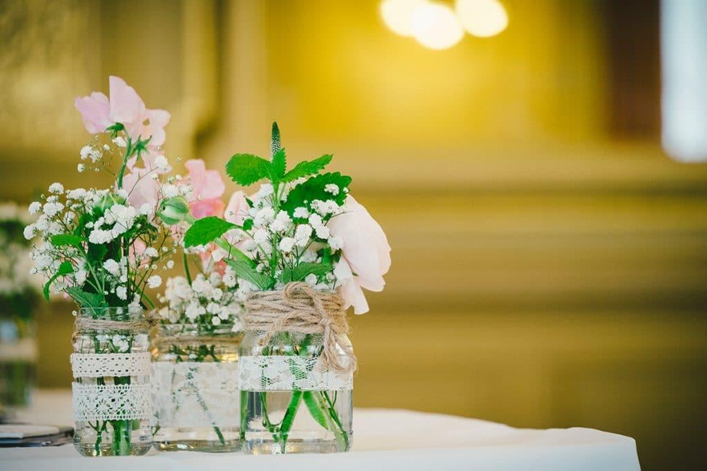 Vintage Blumen Hochzeit