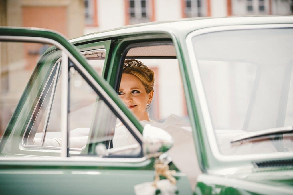 Fiat Oldtimer Vintage Hochzeit