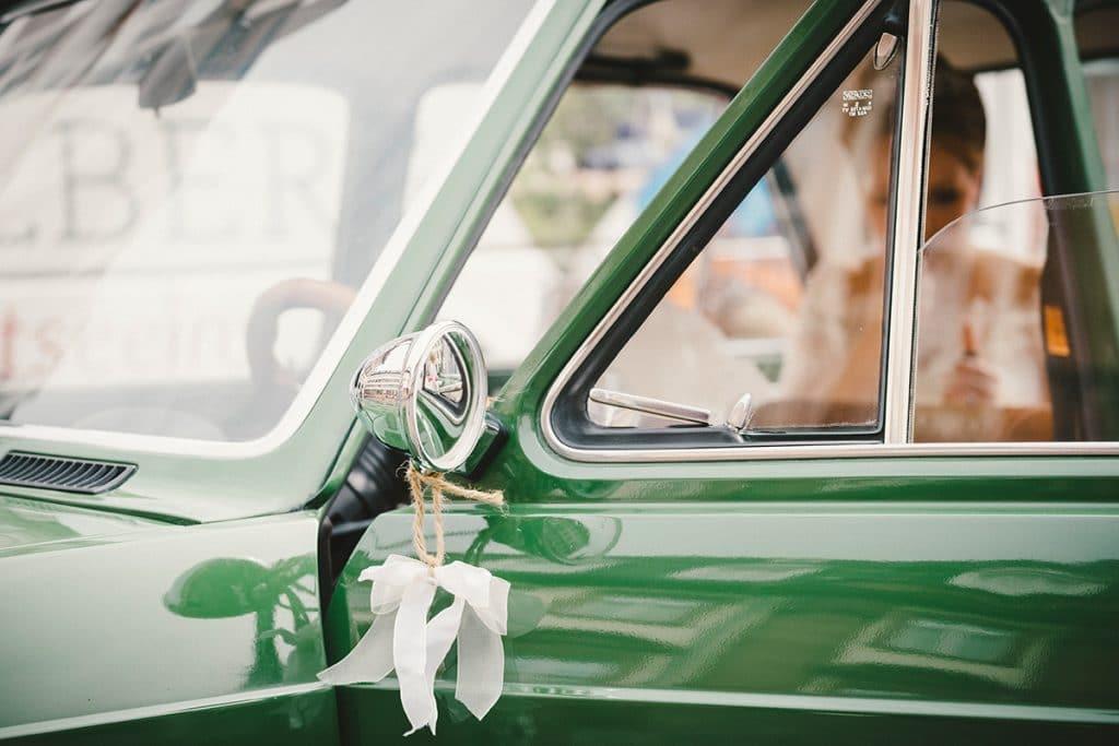 Fiat Oldtimer Hochzeit