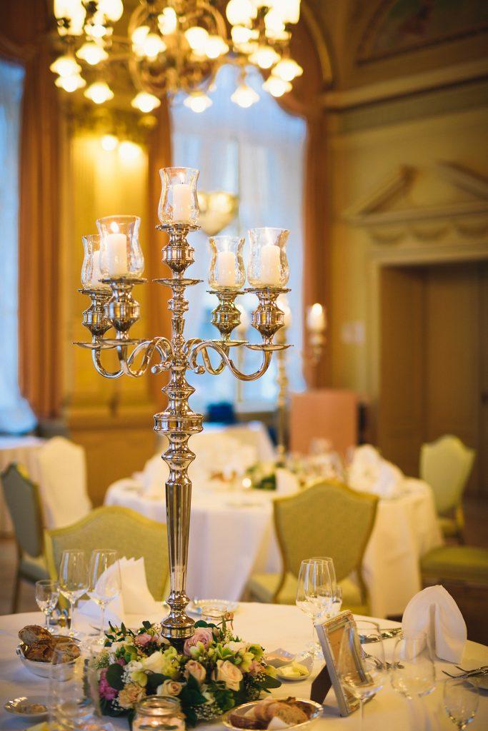 Vintage Hochzeit Tischdeko