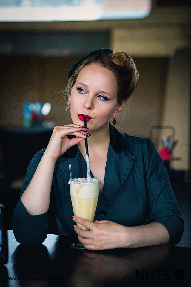 Benjamins Diner Mannheim: Pin Up Shooting