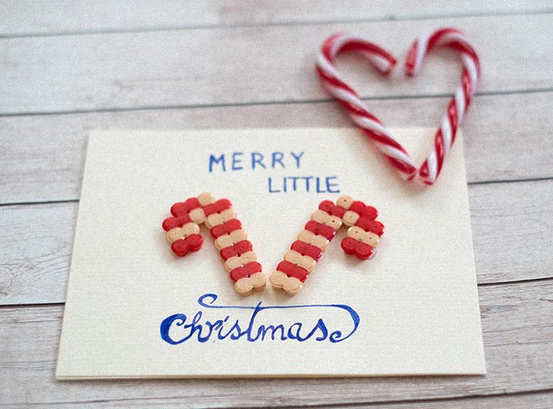Bügelperlen Weihnachtsmotive