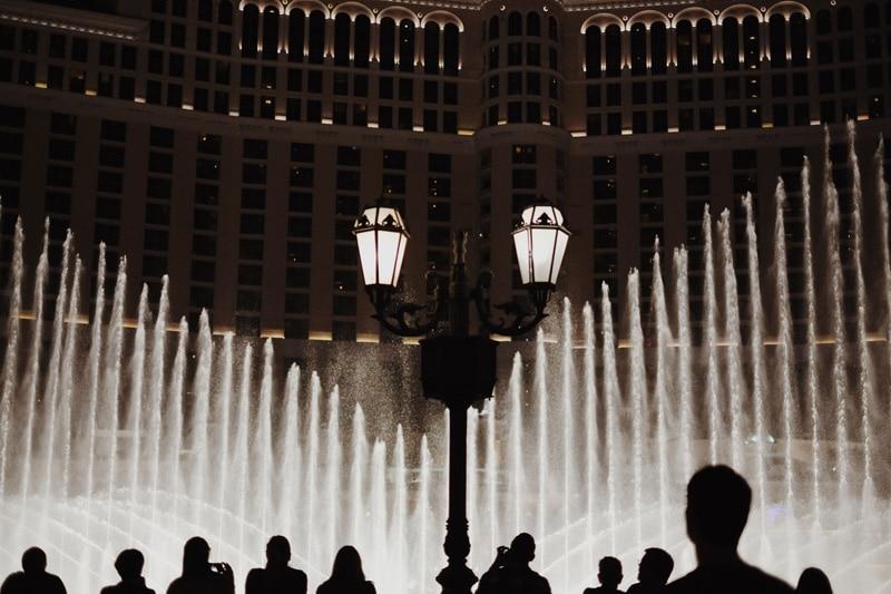 Wasser-Show Bellagio Hotel