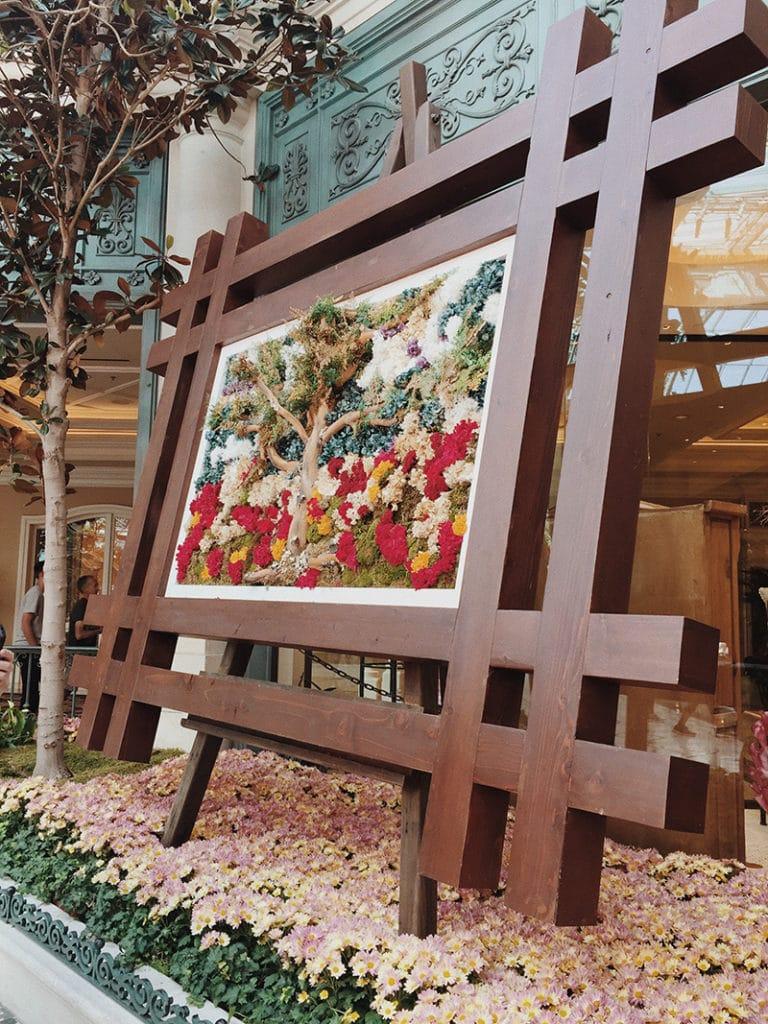 Hotel Bellagio botanischer Garten