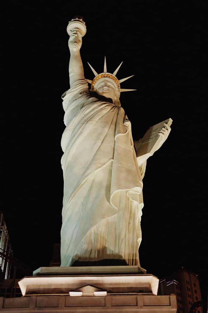 Freiheitsstatue in Las Vegas