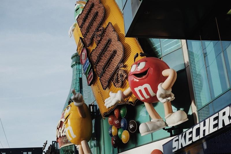 M&M´S Geschäft in Las Vegas