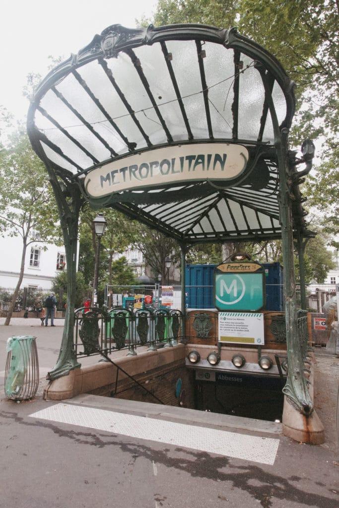 älteste Metro Station in Paris