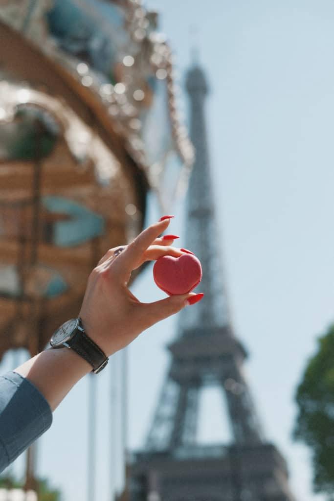Karussell am Eiffelturm