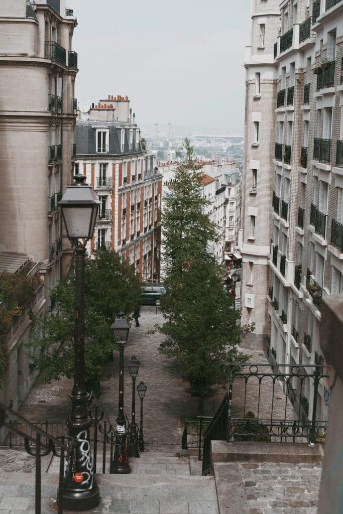 Montmartre Treppen