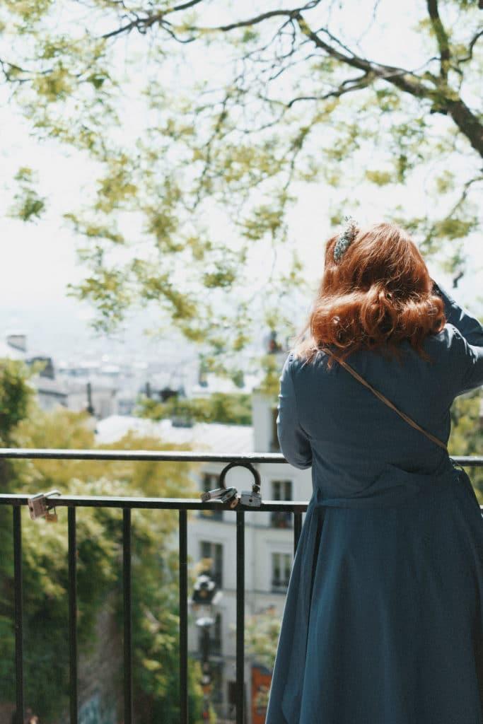 Ausblick über Paris