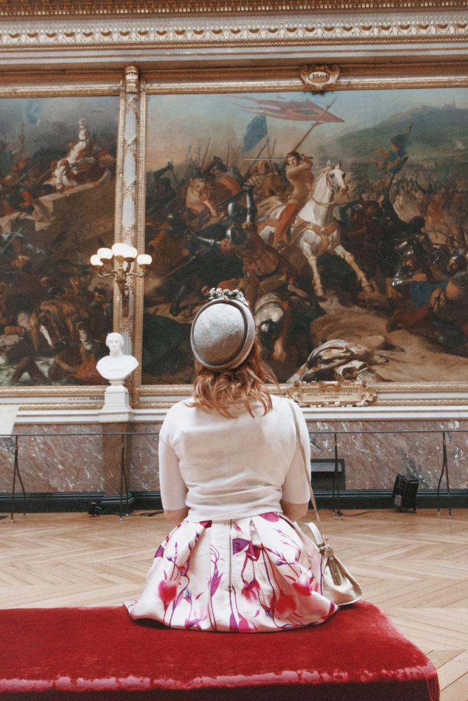 Kriegsgallerie in Versailles