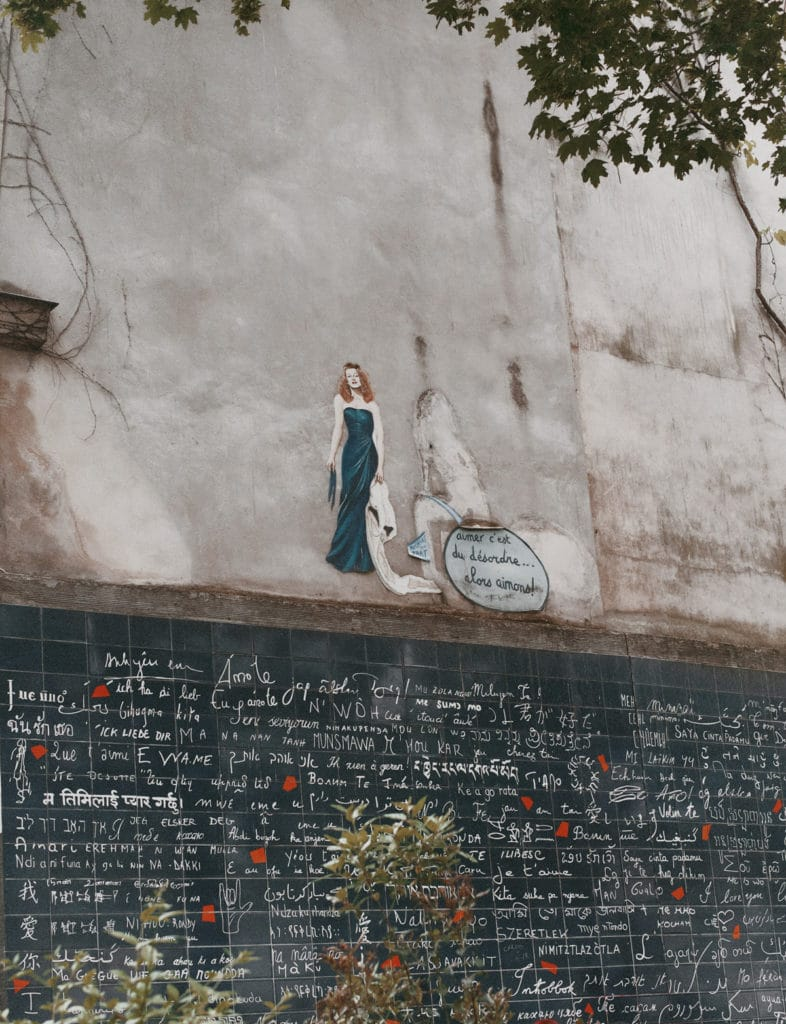 Wall of Love Mauer