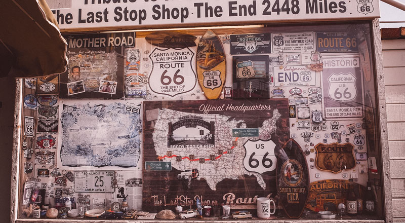 Route 66 Ende