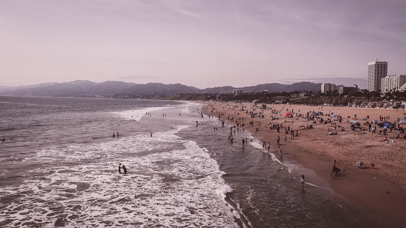 Santa Monica Pier Strand