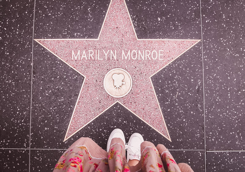 Walk of Fame Marilyn Monroe