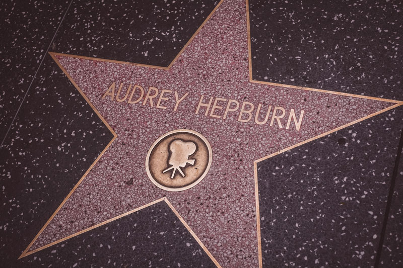 Walk of Fame Audrey Hepburn